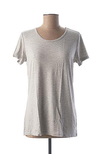 T-shirt manches courtes gris CALIDA pour femme