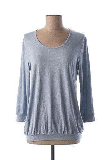 T-shirt manches longues bleu CALIDA pour femme