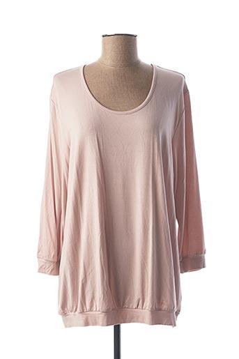 T-shirt manches longues rose CALIDA pour femme