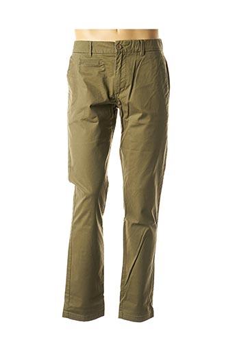 Pantalon casual vert OXBOW pour homme