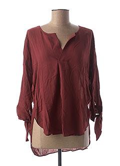 Tunique manches longues rouge SALSA pour femme