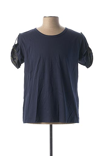 T-shirt manches longues bleu SALSA pour homme