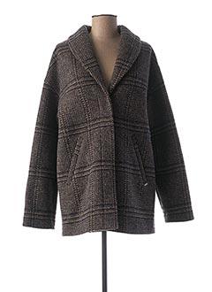 Manteau long bleu I.CODE (By IKKS) pour femme