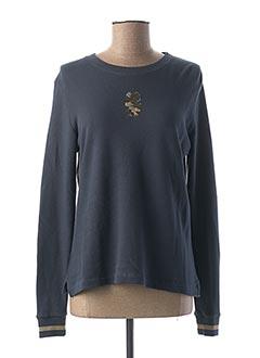Sweat-shirt bleu DIPLODOCUS pour femme