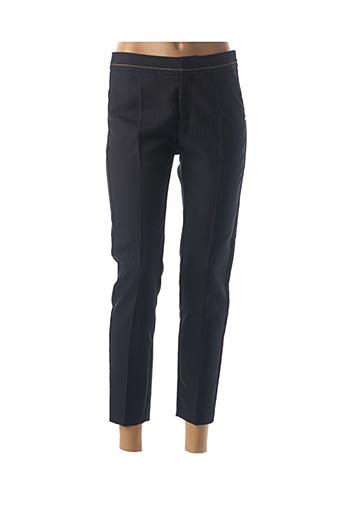 Pantalon 7/8 bleu I.CODE (By IKKS) pour femme