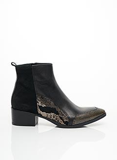 Bottines/Boots noir REQINS pour femme