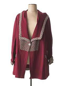 Manteau court rouge JEAN MARC PHILIPPE pour femme
