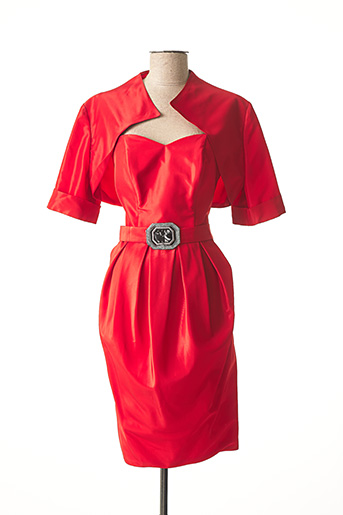 Veste/robe rouge COCKTAIL pour femme