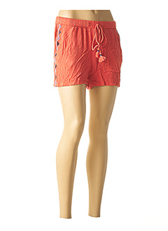 Short orange TOM TAILOR pour femme