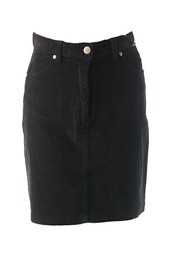 Jupe mi-longue noir CREEKS pour fille