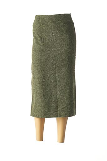Jupe longue vert CHATTAWAK pour femme