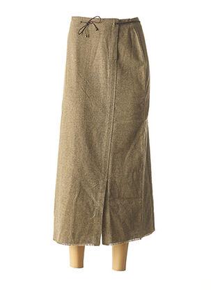 Jupe longue vert CREEKS pour femme