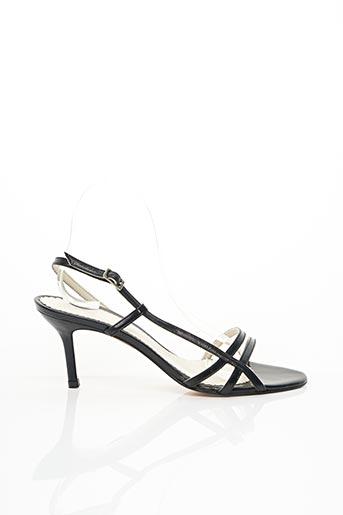 Sandales/Nu pieds noir CARMEN POVEDA pour femme