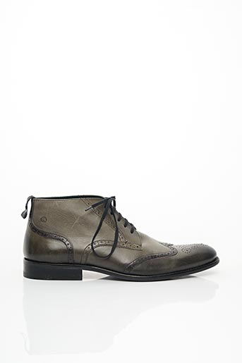 Bottines/Boots vert EXCEED pour homme