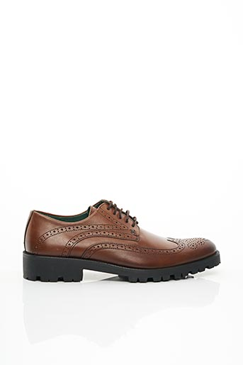 Derbies marron EXCEED pour homme