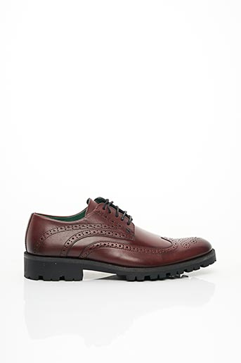 Derbies rouge EXCEED pour homme