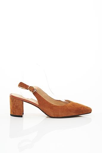 Escarpins marron FUGITIVE pour femme