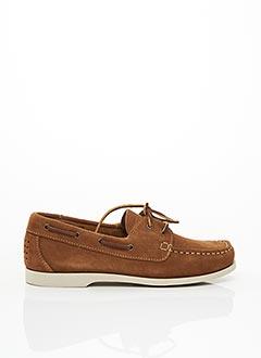 Chaussures bâteau marron TBS pour femme