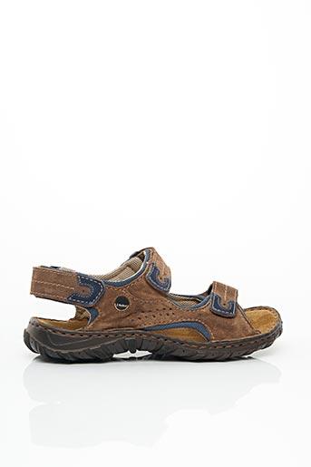 Chaussures de confort marron JOSEF SEIBEL pour homme