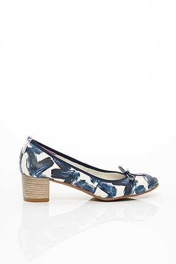 Escarpins bleu FOLIE'S pour femme