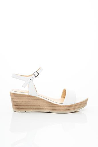 Sandales/Nu pieds blanc BZ BIS pour femme