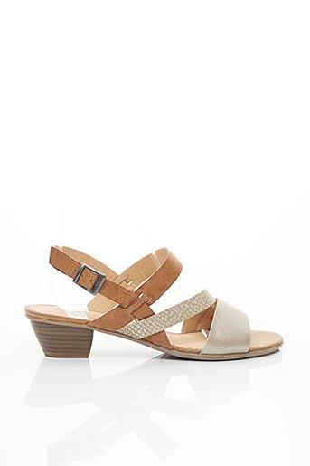 Sandales/Nu pieds marron SWEET pour femme