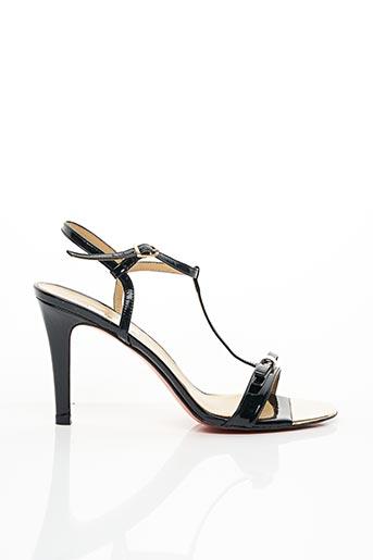 Sandales/Nu pieds noir LODI pour femme