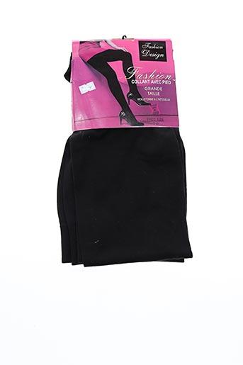 Collants noir FASHION DESIGN pour femme