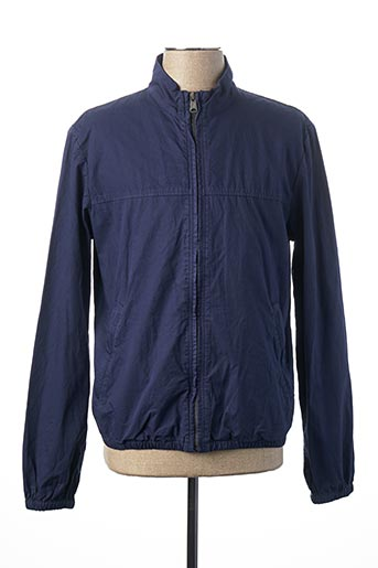 Veste casual bleu MCS pour homme