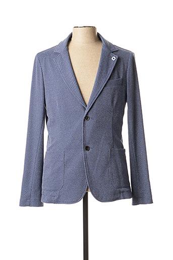Veste chic / Blazer bleu INDIVIDUAL pour homme