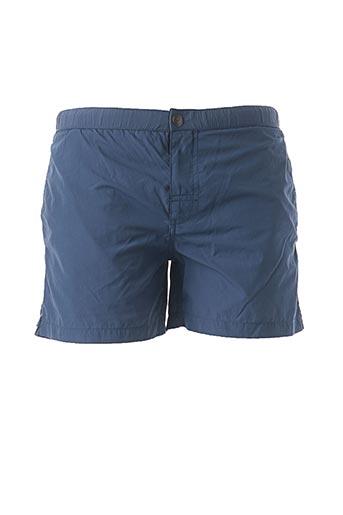 Short de bain bleu MCS pour homme