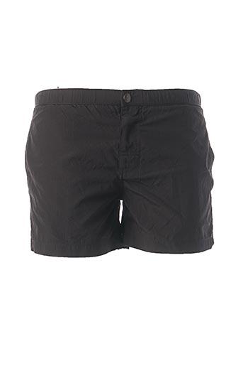 Short de bain noir MCS pour homme