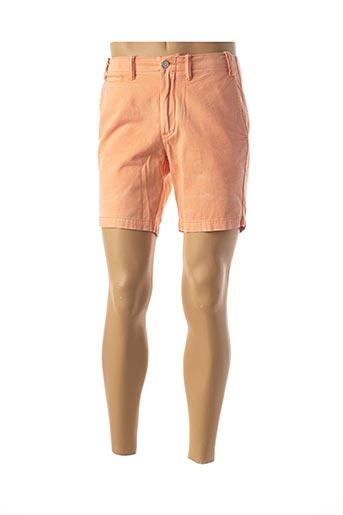Short orange RALPH LAUREN pour homme