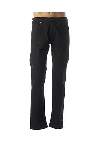 Pantalon casual noir SERGE BLANCO pour homme