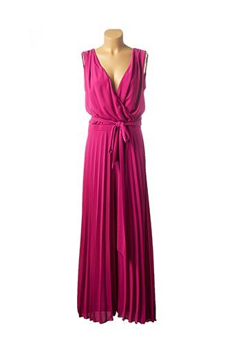 Combi-pantalon rose CARLA MONTANARINI pour femme