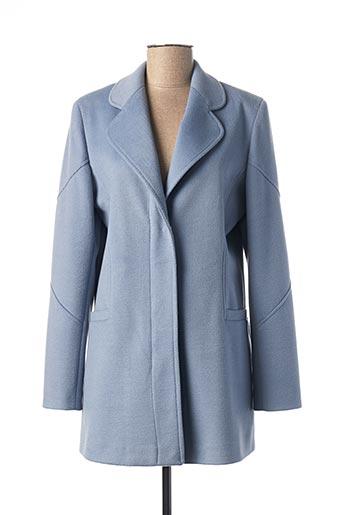 Manteau long bleu DAMA MIA pour femme