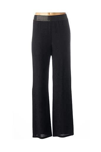 Pantalon chic noir DAMA MIA pour femme