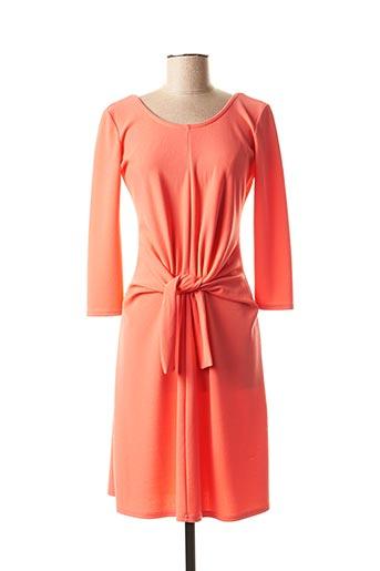 Robe courte orange FIFILLES pour femme
