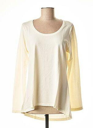 T-shirt manches longues beige BSB pour femme