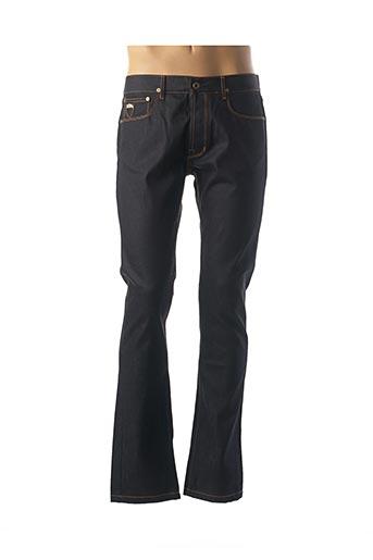 Jeans coupe droite noir APRIL 77 pour homme