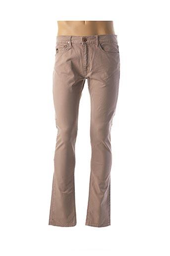 Pantalon casual marron APRIL 77 pour homme