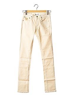 Pantalon casual blanc APRIL 77 pour femme