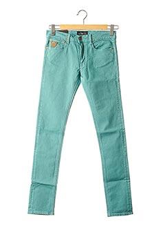 Pantalon casual bleu APRIL 77 pour femme