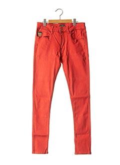 Jeans skinny rouge APRIL 77 pour femme