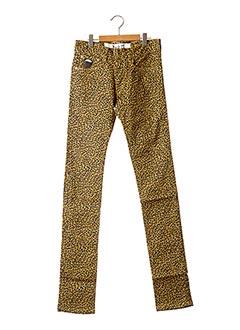 Pantalon casual jaune APRIL 77 pour femme