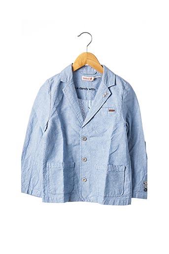 Veste chic / Blazer bleu BOBOLI pour garçon