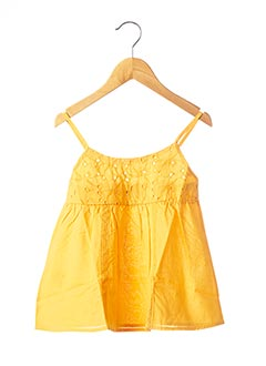 Top orange BOBOLI pour fille