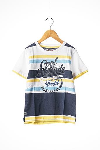 T-shirt manches courtes bleu BOBOLI pour garçon