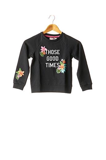 Sweat-shirt noir BOBOLI pour fille