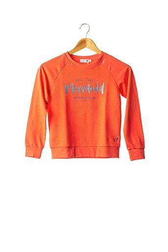 Sweat-shirt orange BOBOLI pour fille